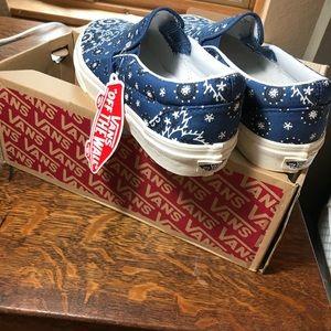 793cb60ae8 Vans Shoes - Madewell x Vans® Slip-On Sneakers in Bandana Print